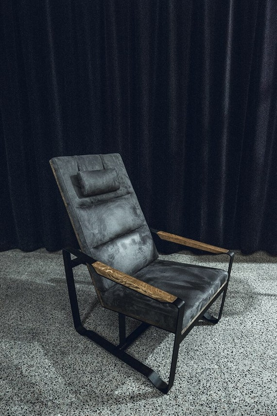 Industrial Furniture / Modern Armchair / Industrial Armchair | Etsy