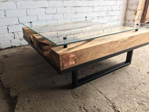 Couchtisch Industrial Mobel Holz Tisch Holz Mobel Etsy