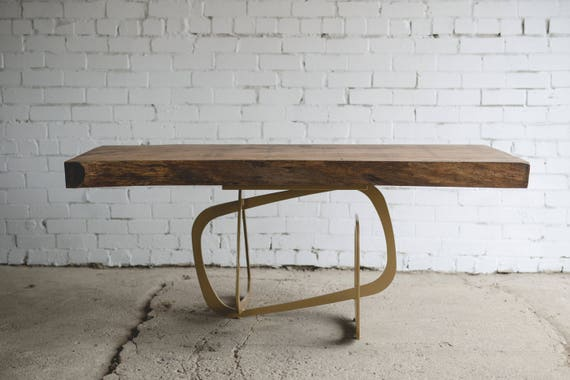 Dining Table Office Table Metal Table Legs Table Basse Wood Furniture Industrial Furniture Rustic Decor Oak Oak Furniture