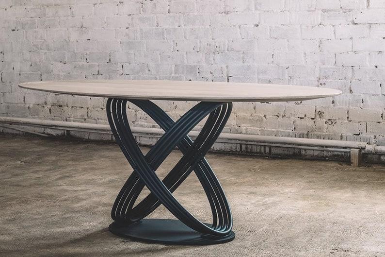 Tavolo Da Pranzo Industriale : Tavolo da pranzo rovere industriale tavolo da pranzo etsy