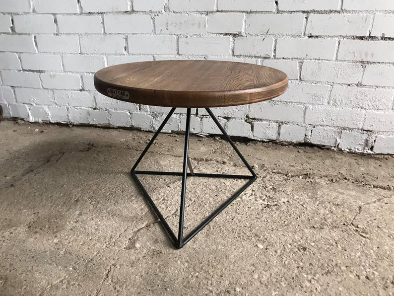Coffee Table Industrial Furniture Wood Table Wood Etsy