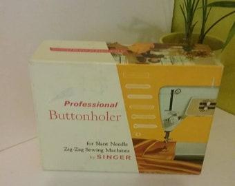 Vintage Singer Professional Buttonholer, Singer Buttonholer, sewing needs.
