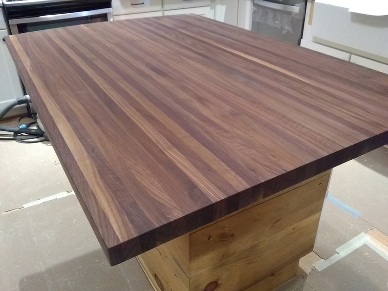 Awesome Butcher Block Counter Top Butcher Block Island Top Black Walnut Butcher Block Black Walnut Cutting Board Black Walnut Butcher Block Top Download Free Architecture Designs Rallybritishbridgeorg