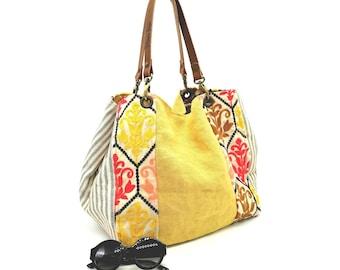 Bucket Bag SASHA Sultan Ocre