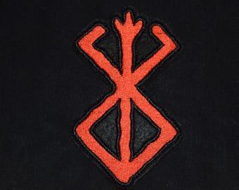 Brand of Sacrifice Berserk Patch Jacket Sew-On Jacket Sew Merch BB Gift  Brand of Sacrifice Wall Mount Berserk Guts Brand berserker runes 4b7e78800ebc