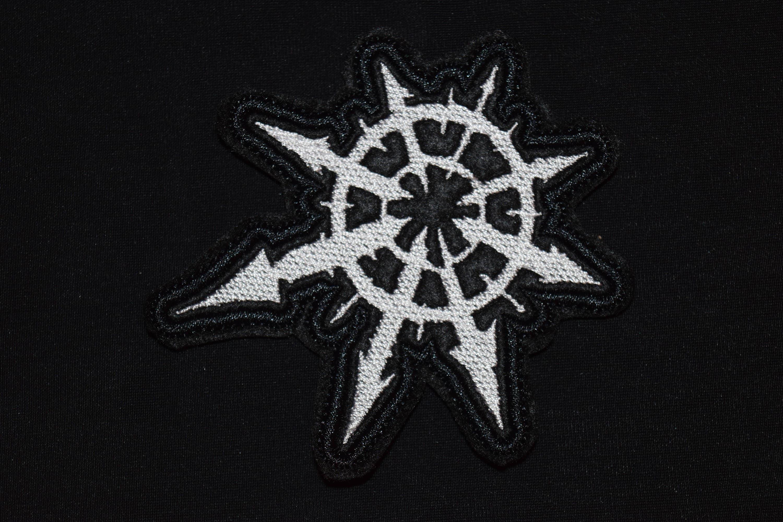 Warhammer 40k Chaos Star Patch Logo Symbol Jacket Sew On Etsy