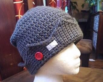 79c4c7c59f8 Jughead inspired beanie whoopee cap cosplay hat costume unisex hat teen  hat crown hat grey cap winter toque crochet cap tvshow inspired