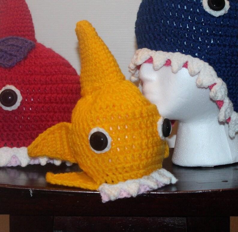 a307680120b Yellow shark hat Baby Shark doo doo doo doo doo doo shark