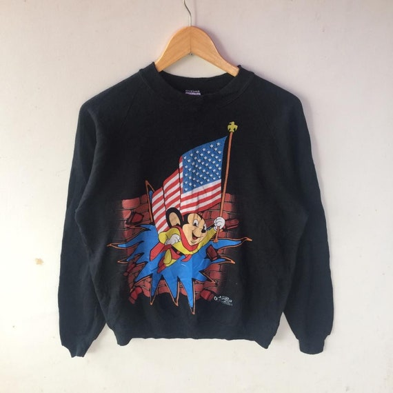 Vintage!! mighty mouse sweatshirt mickey mouse swe