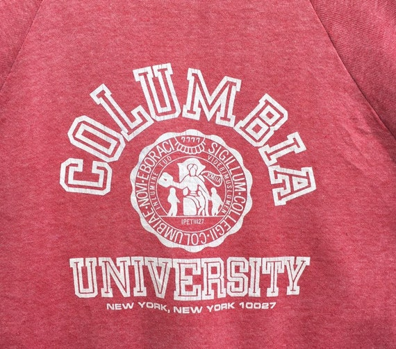 Rare!! Vintage!! university Columbia new york swe… - image 3