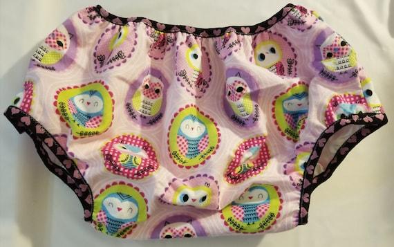 Adult Baby Windel Abdeckung Kunststoff Hosen Eulen Druck schon | Etsy