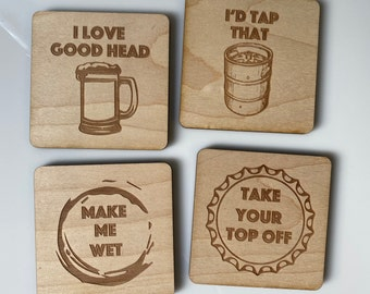 Novelty Drink Coaster Mat Funny Gift ~ You Are Confusing Me