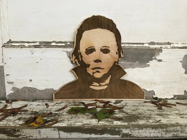 44be9fab0dec Michael Myers Halloween Wall Hanging Haddonfield Decoration