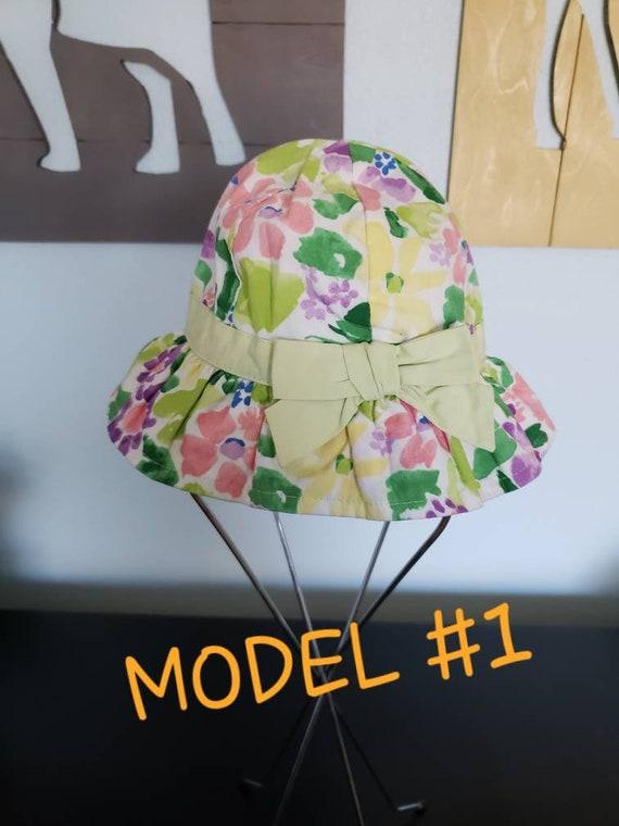 Gymboree Baby Girl Ruffle Polka Dot Sun Swim Hat NWT Size 6-12,12-24 Mos.U PICK