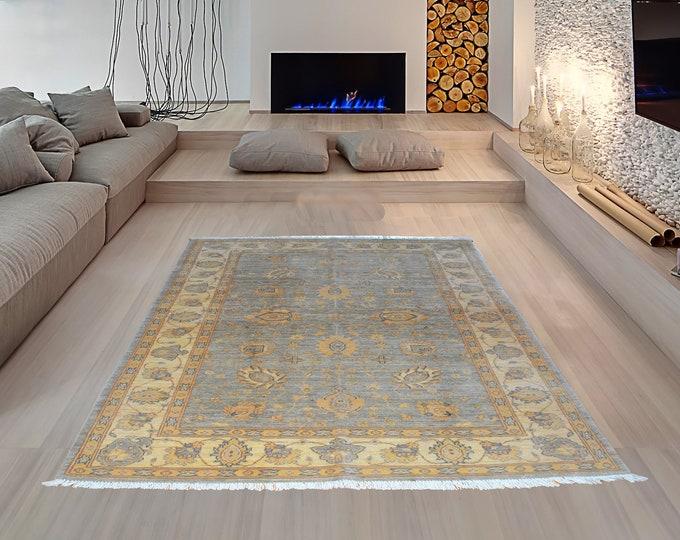 Brand New Afghan Vegetable Dye Chobi Oushak Carpet,Handmade Rug,Afghan Rug,Oriental Rug,Area Rug,Elegant Quality Hand Knotted