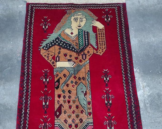 3x5 Afghan rug, home decor rug, small rug, decorative rug, turkish rug, large floor rug, abstract rug, nomadic rug, morocco rug, poker queen