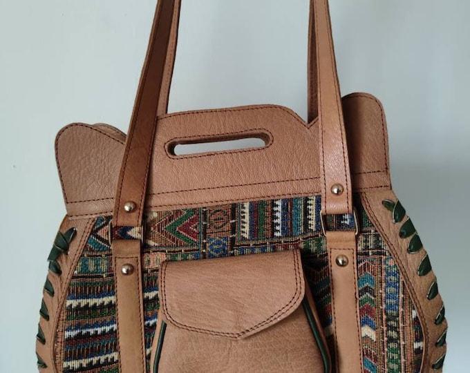 Leather Handbag, Minimalist Bags Women, Full Grain Leather Purse, Leather crossbody bag, Brown Shoulder Bag, Top Handle Bag, Gifts For Women