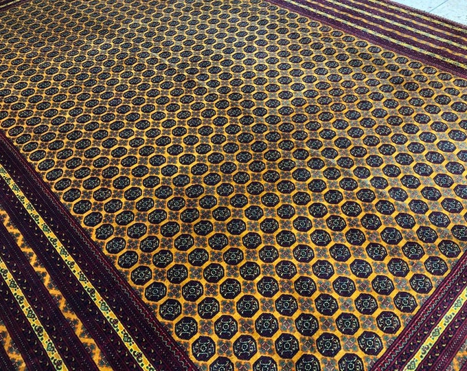 A Piece of Art Extremely Soft to Touch Tightly Knotted Highest Quality Merino Wool Handmade Afghan Rug