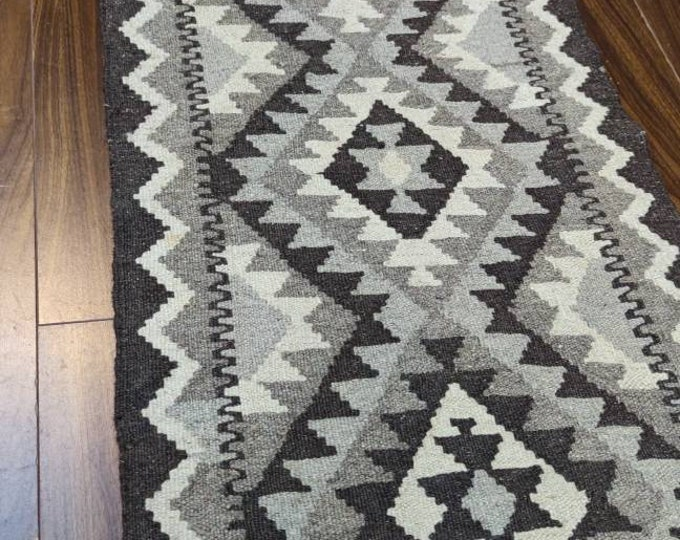 1.8x6.1 Ft  Beautiful Handmade Fedad Afghan Kilim Rug, 100% Wool Kilim Rug, Afghan Rug, Vintage Rug, Turkish kilim rug