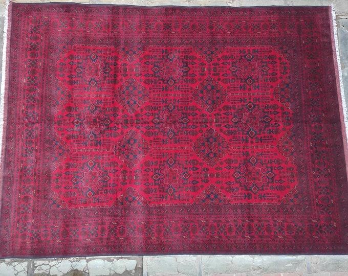 10X13 Ft Brand New Hand Made Rug. Afghan Khal Mohammadi Rug, Area rug, Tribal rug, Persian Rug, Area Rug
