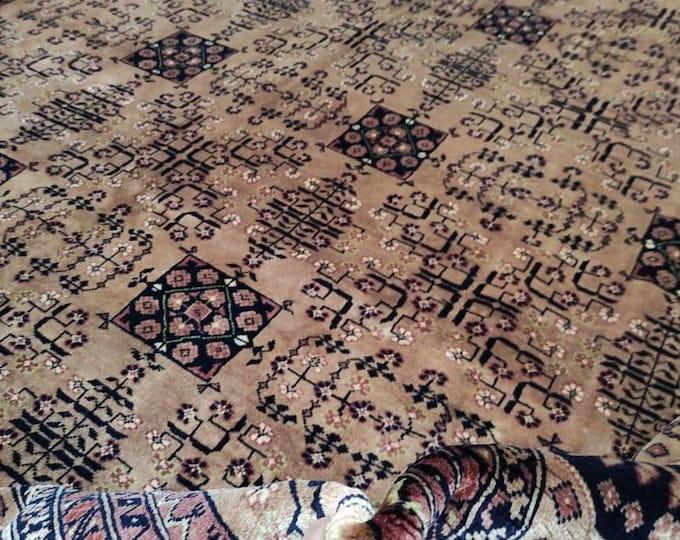 9X12 Extremely SOFT Beljik Afghan High-Quality Double knotted 50/50 Handmade rug Merino wool  Rug, Bokhara Belgic big size living room rug