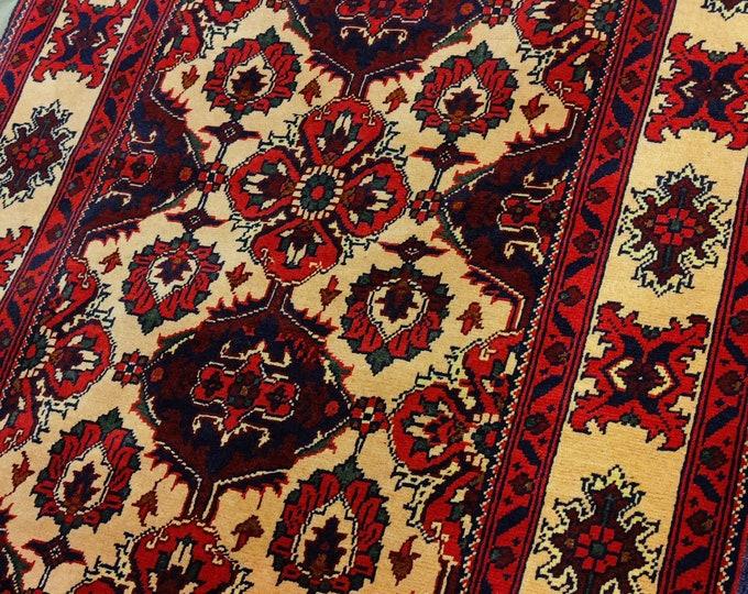 Stunning Soft Well-made Afghan Rug,Home Decor, 5x3 rug,İnterior and Designer Rugs, Yellow Colors rug,Saloon Rug, handmade carpet, Kilim Rug