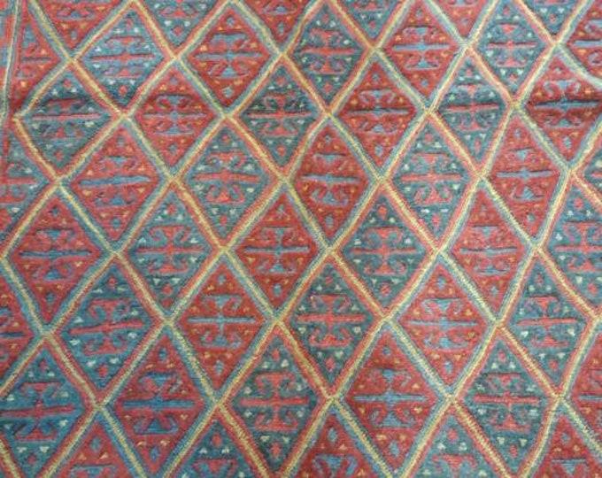 5X6'11 Mushwani Afghan Kilim Rug, Barjasta Kilim Rugs, Rug Carpet, Area Rug Carpet, Bohemian Rug, Handmade Turkish Rug, Muted Rug, Kilim