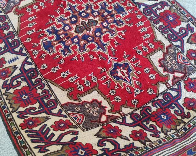 Stunning Well-made Handmade Afghan Barjasta kilim rug, Bidsize tribal Kilim rug, nomadic Afghan Tribal mushwani kilim rug,  Persian design