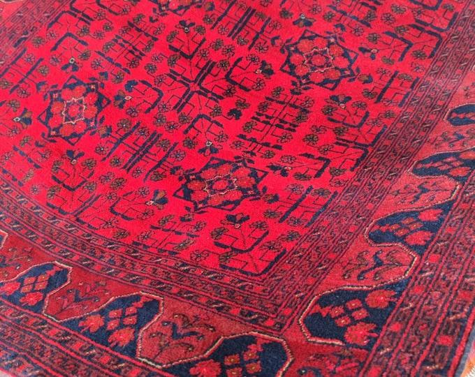 Soft Well-made Afghan Merinos Rug Handmade Area Rug, Hand-knotted Rug, Wool Turkish Design Rug, Handmade Carpet Rug,Turkish Rug, Khorasanrug