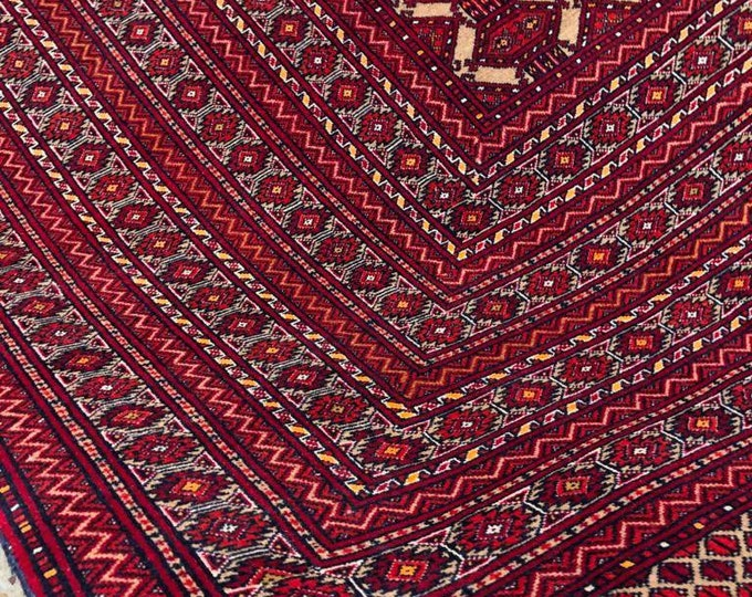 10X13 Ft Extremely tightly knotted soft Afghan Beljic Hand-knotted Zahir Shahi design rug