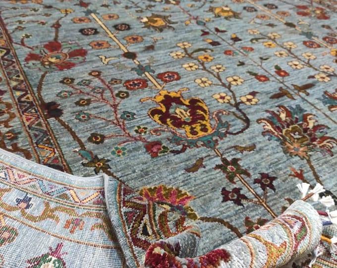 7x10 dusty rose rug, neutral oriental rug, fringe rug, white rug, area rug, navy blue carpet, moroccan rug, home decor rug, decorative rug