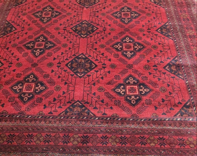 5X7 Khal Mohammadi Afghan Rug, Vintage Rug Turkish, Afghan Rug, Turkey Rug, Floor Rug, Decorative Rug, Tribal Rug, Kiim Rug, Rugs, Cheap Rug