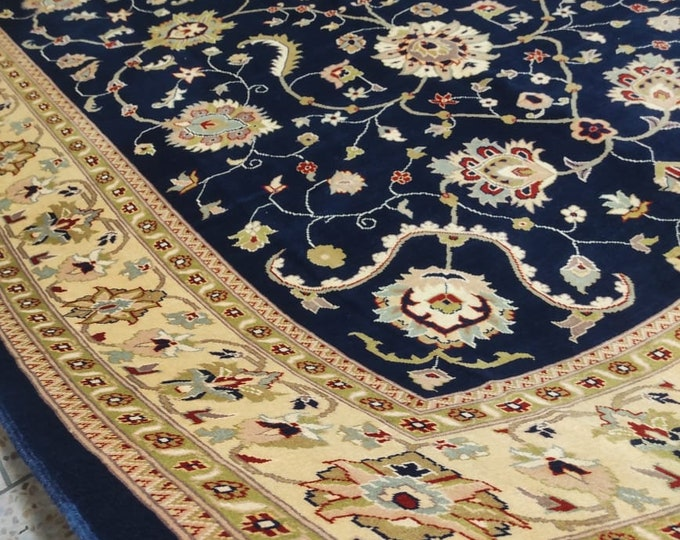 Beautiful 10X7 Ziegler Chobe rug made with the finest wool in Ghazni north of Afghanistan, Persian Rug design, elegant red rug