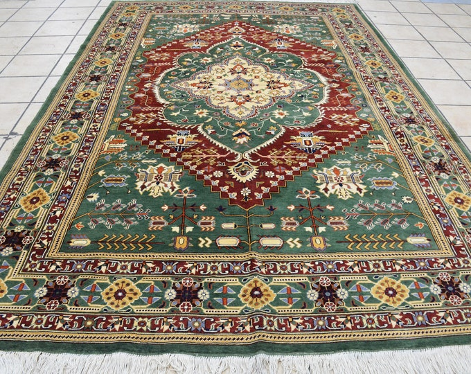 Stunning Persian design High-quality Soft Ghazni wool large room sized rug oriental style low pile Rug