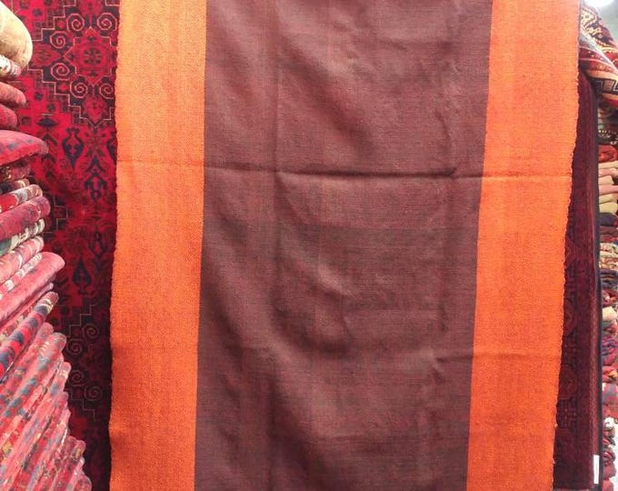 Khorasan Rugs, Gorgeous vintage handmade Blanket made by Afghan Tukmen in a perfect condition 8'4X 3'5 ft, Khorasanrug