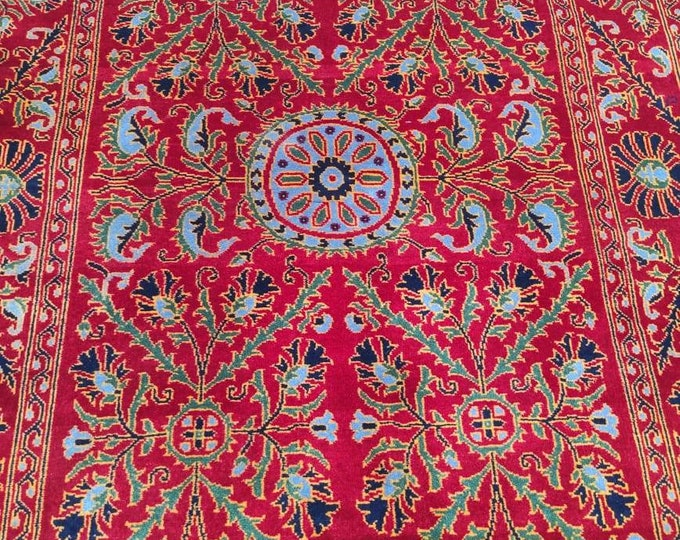 Highly tighten knotted 50/50, 4X6 Ft Afghan Double-Knotted Excellent Fine Wool Rug, Oriental Rug, Hand-knotted Rug, Persian Rug