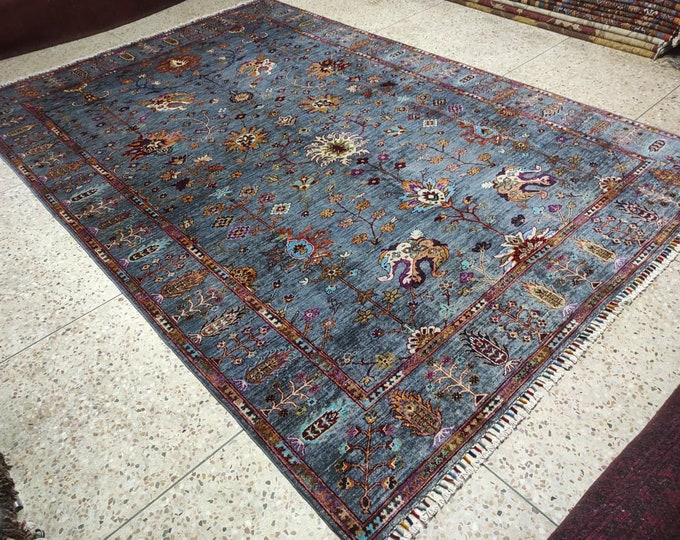 Beautiful Color combination Persian design made with High-quality of Afghan Ghazni wool, large room sized rug oriental style low pile Rug