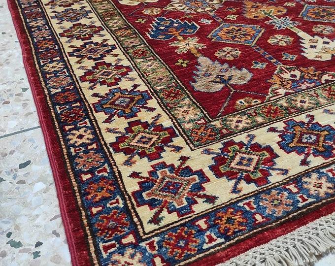 3x5 Afghan rug, war rug, sumac rug, rug runner, nomadic rug, bedroom rug, floor rug, nursery decor, oriental rug, turkish blanket, persian