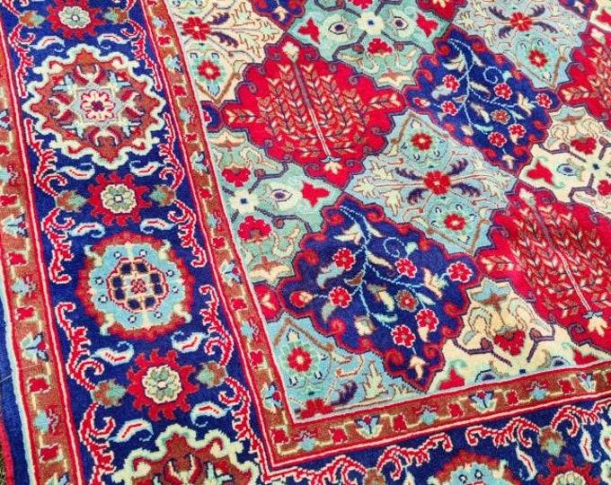5x7 Beautiful Merinos Wool Afghan Rug, Pile Rug, Turkish Kilim Rugs, Rug Carpet, Oushak Rugs, 5X7 Feet
