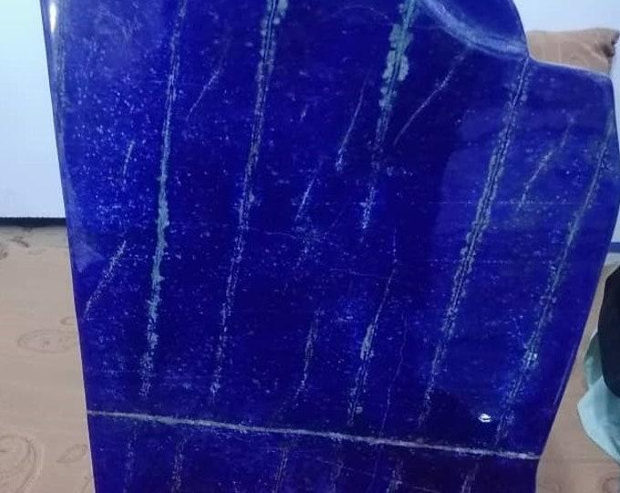 57 KG Lapis lazuli Top-quality Decoration Healing Stones Natural Stones Blue Gemstone Free Form Sculpture Object Badakhshan Afghanistan