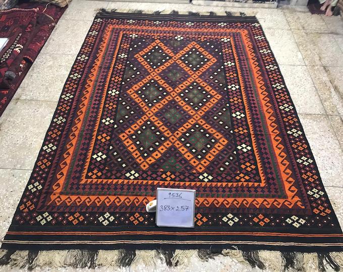 Tribal Afghan handwoven Kilim, Area Antigue Kilim Rugs,  Large Area Vintage Handmade Afghan Traditional Area Kelim, Vintag Kilim Rug