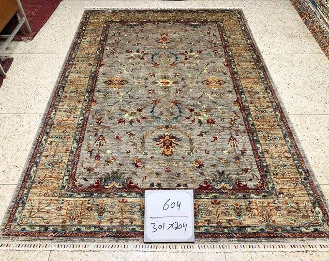 7x10 oushak vintage rugs, doormat rug, modern furniture, persian rug, entryway rug, bedroom rug, entrance rug, bathroom rug, modern rug
