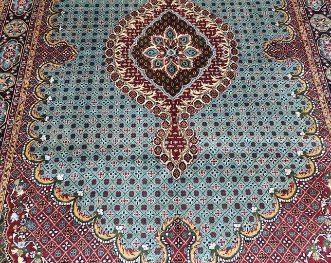 6.6X10 Ft Stunning Persian design High-quality Ghazni wool large room sized rug oriental style low pile Rug