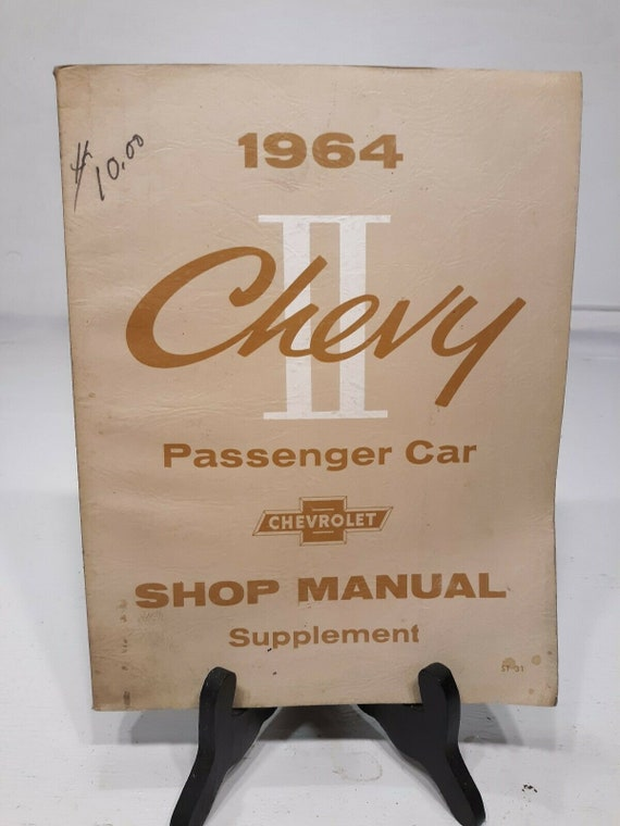 63 1963 Chevy II Nova Supplement Shop Manual