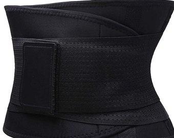 6ce8f348ee Waist Trainer Belt for Women   Man - Waist Cincher Trimmer Weight Loss Ab  Belt - Slimming Body Shaper Belt