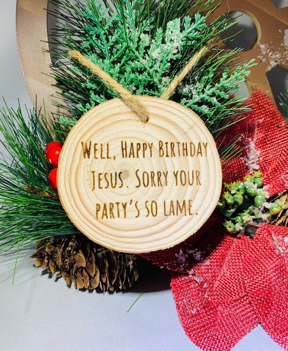The Office Tv Show Happy Birthday Jesus Sorry Your Party S Etsy