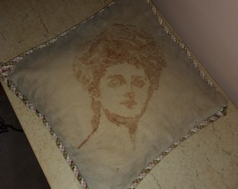 Gibson Girl Pillow.