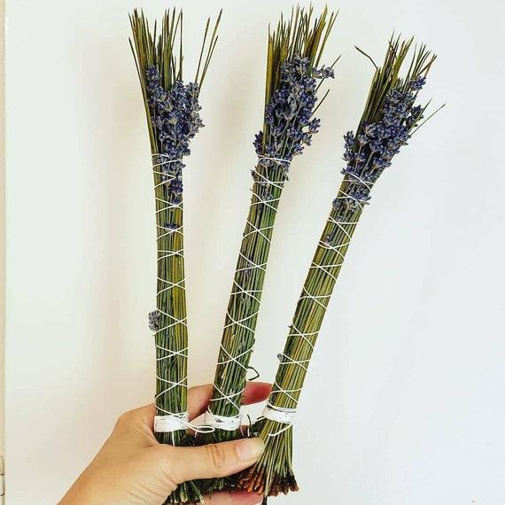 Lavender Pine Sacred Smoke Wand