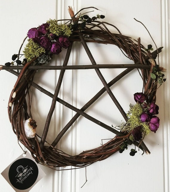 """Willow Wreath Protective Charm 16"""""""
