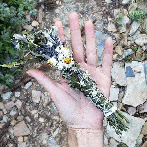 Mini Mugwort Sacred Smoke Wand